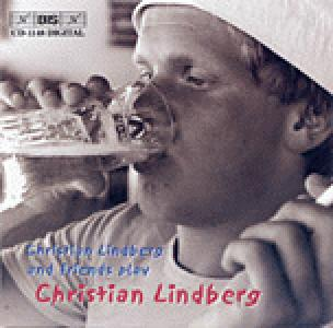 Christian Lindberg and friend