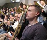 Espen Aareskjold spelar på A-trombon kl 17 i Hedvig Eleonora Kyrka i dag den 1:a april.
