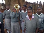 Nisse Landgren i svartaste Afrika